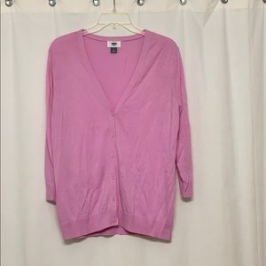 Old Navy cardigan with three-quarter sleeves NWOT